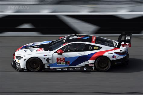 Bmw M8 Gte Finishes 7th And 9th In Daytona