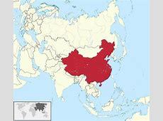 Ubicación Geográfica de la Antigua China Fronteras y Relieves