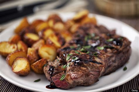 steak and potatoes food friends that should get a room photos huffpost