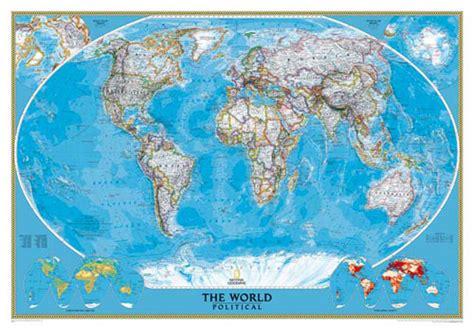 carte du monde murale plastifiee carte du monde de la srie classic ou carte monde
