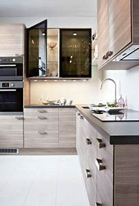 Cuisine Brokhult Ikea : cuisine ikea noyer gris clair maison pinterest kitchens kitchen design and small modern ~ Melissatoandfro.com Idées de Décoration