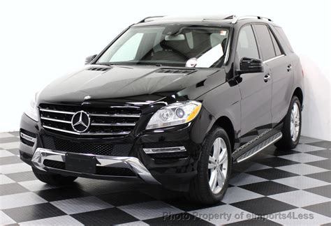 mercedes jeep 2015 black 2015 used mercedes benz m class certified ml350 4matic awd