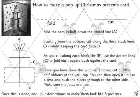 teacher s pet pop up christmas presents card premium