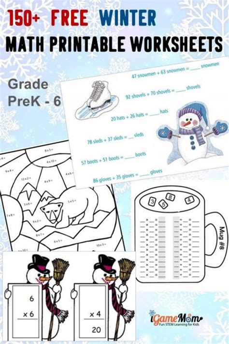 physics of snowboarding worksheet 150 free winter math printable worksheets