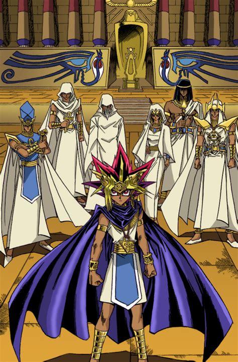 yu gi oh yugioh pharaoh yami manga yugi atem ancient monsters duel millennium mahad priests anime egypt history priest way
