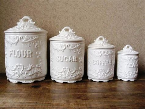 ceramic canisters for the kitchen the inexplicable mystery into ceramic kitchen canisters uncovered