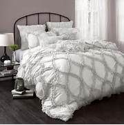 Thrifty And Chic DIY Projects And Home Decor 36 Relaxing Neutral Bedroom Designs DigsDigs White Bedroom Ideas With Wow Factor Lotus Comforter Set In Grey White Is Not Available For Sale Online