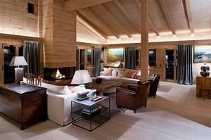 decoration interieur chalet montagne 50 idees inspirantes With decoration interieur chalet moderne