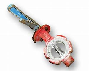 3 U0026quot  Dia  Protech Butterfly Valve Used Manual For Sale