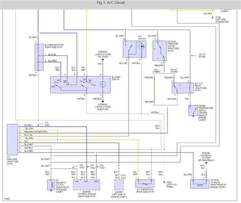 Wire Diagram 98 Toyotum 4runner by A C Relay Location I Need To Locate The A C Relay In My Truck