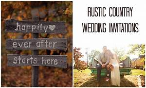 Rustic Country Wedding Invitations Tropical Papers