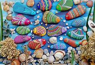 Painted Stones Rocks