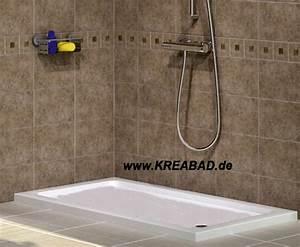 Extra Tiefe Duschwanne : duschwanne flach 100 x 140 ~ Michelbontemps.com Haus und Dekorationen