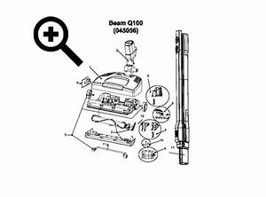 Beam Q100 Power Head Parts