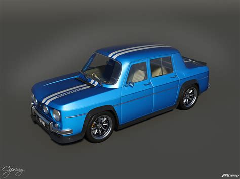 Renault 8 Gordini 1300 3 By Cipriany On Deviantart