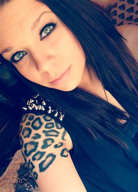Leopard Print Tattoo On Shoulder, Tattooed Parent, Animal