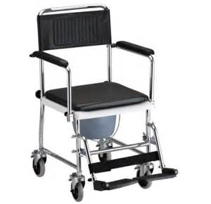 commode toilet and shower chair with wheels and cover