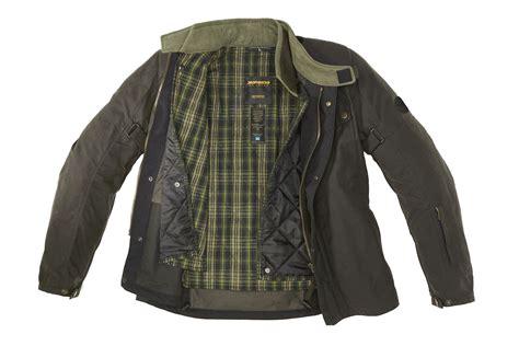 Motorcycle Jackets : Spidi Worker Wax Motorcycle Jacket