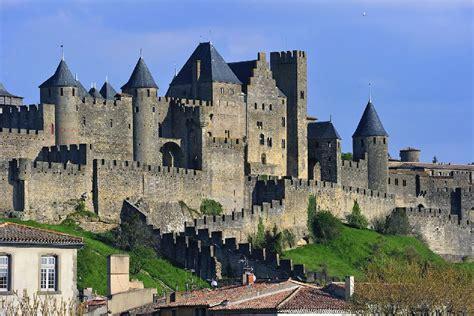 bureau vall carcassonne the fortified 39 cité de carcassonne 39 languedoc roussillon