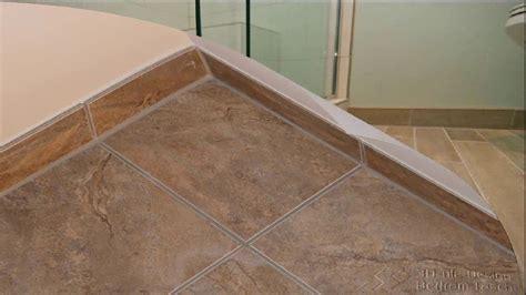 bathtub floor trim bathroom tile baseboard ideas 1509