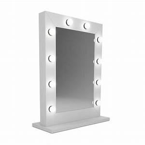 Spiegel 80 X 80 : populair model visagie spiegel met wit kader en led lampen 60x80 cm visagiespiegels ~ Whattoseeinmadrid.com Haus und Dekorationen