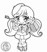 Yampuff Chibi Coloring Pages Deviantart Chibis Lineart Drawings Commission Cupcake Double Artist Takahashi Steven Universe Open Makoto Chloe Linearts Elf sketch template