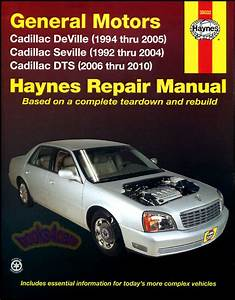 1996 Cadillac Sts Owners Manual