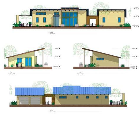 green building house plans ojai california contemporary green home