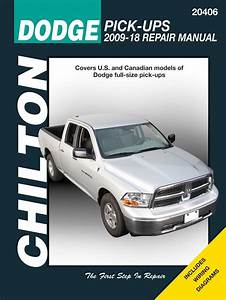 Dodge Ram Chilton Repair Manual  2009-2018