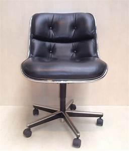 Fauteuil De Bureau Design : fauteuil de bureau charles pollock ann es 70 design market ~ Teatrodelosmanantiales.com Idées de Décoration