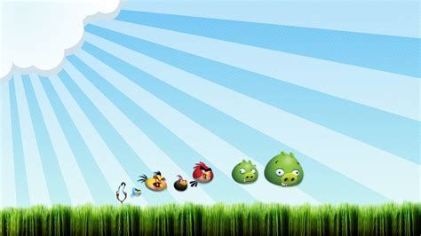 Angry Birds Background Angry Birds Wallpaper Powerpoint Background Free