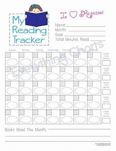 Reading Chart For Girls Pdf File  Printable
