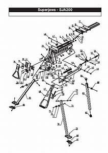 Tool Schematic And Parts U00e2 Cordless Framing Nailer
