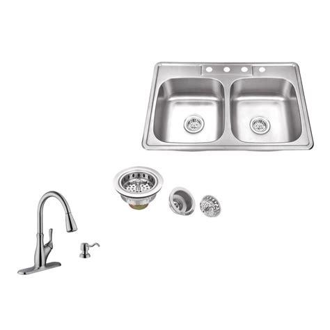 Ipt Stainless Steel Sinks by Ipt Sink Company Drop In 33 In 4 Stainless Steel