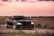 BMW M6 Gran Coupe Black