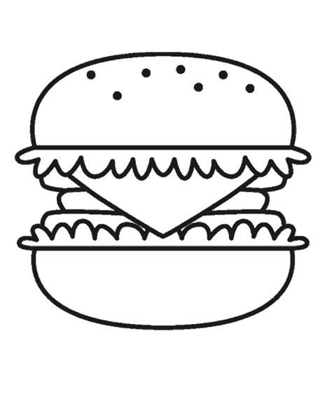 dessin de cuisine à imprimer dididou coloriage fast food