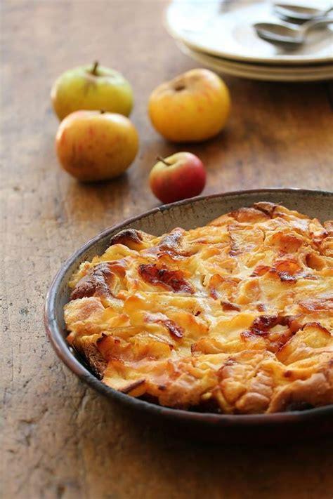 cuisine et mets gâteau aux pommes flognarde spécialité limousin ou