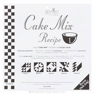 Cake Mix Recipe 1 by Miss Rosie's Quilt Co - Miss Rosie's