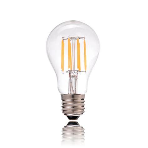 led decorative filament bulb 4w 6w 8w cold warm white a19