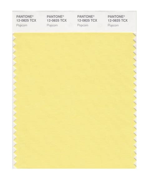 pantone smart swatch 12 0825 popcorn colour trend