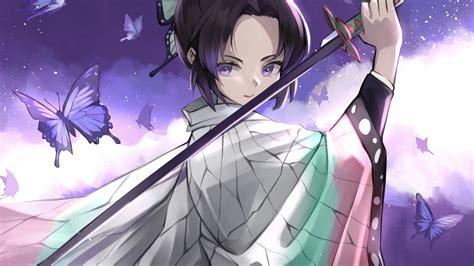 2560x1440 Demon Slayer Samurai Anime Girl 4k 1440p