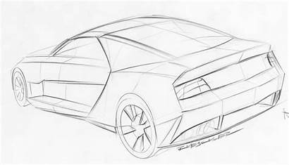 Camaro Coloring Drawing Sketches Pages Cars