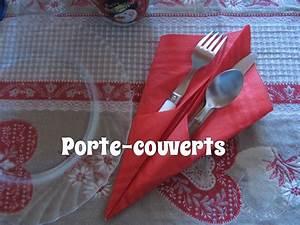 Porte Serviette En Papier : pliage porte couverts youtube ~ Teatrodelosmanantiales.com Idées de Décoration