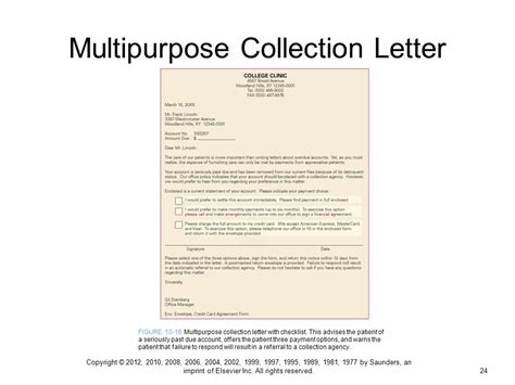 collection letter sle sle collection letter sle collection letter employee