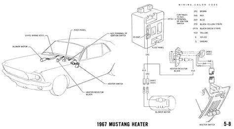 1967 Ford Mustang Wire Harnes Diagram by 1967 Mustang Wiring And Vacuum Diagrams Average Joe