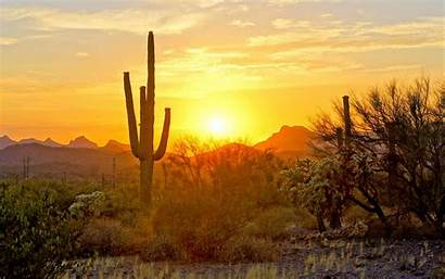 Arizona Desert Sunset Phoenix Summer Scottsdale Market