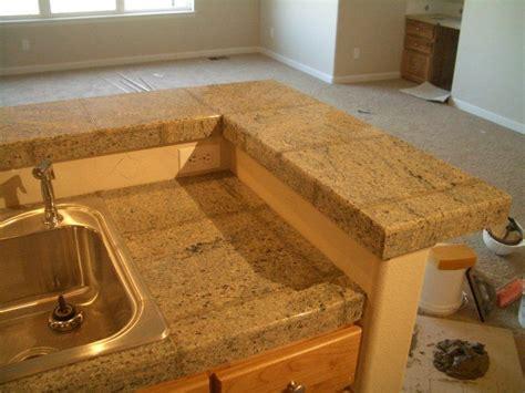 Granite Tile Countertop by Countertop Granite Tile Countertop No Grout