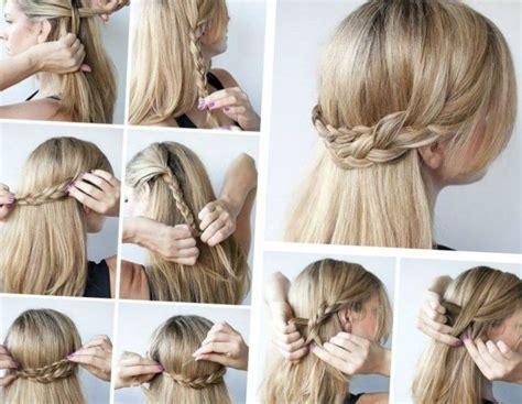 Die Besten 25+ Frisuren Mit Haarband Anleitung Ideen Auf Pinterest