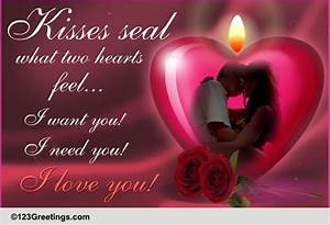 I Love You! Fre... Kiss Day Romantic Quotes