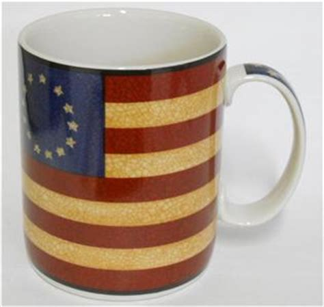 Coventry Liberty  13 Star Colonial American Flag Coffee